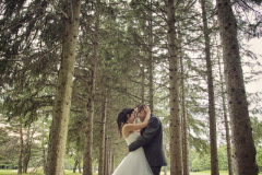 photograhie-lanaudiere-mariage-bois-exterieur-foret-couple-lanaudiere