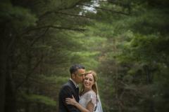 photographe-lanaudiere-mariage-couple-romantique-foret