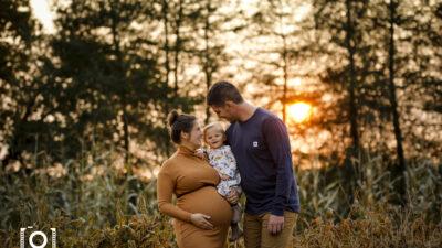 Maternité, bedaine et bébé